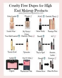 list of free makeup brands