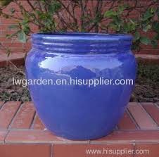glazed flower pots from china