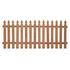 Severe Weather Common 3 5 Ft X 8 Ft Actual 3 5 Ft X 8 Ft Natural Western Red Cedar Privacy Fence Panel Cedar Wood Fence Picket Fence Panels Fence Panels