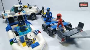 Đồ Chơi Lego Siêu Nhân, Tàu và Xe Cảnh Sát - YouTube