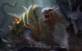 fantasy art battle of immortals