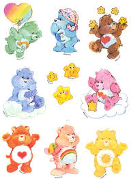 Care Bear Removable Wall Decals Stickers Design Independence