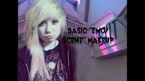 basic emo scene makeup tutorial you