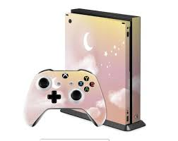 Magic Night Skin Xbox Series S Fluffy Clouds Decal Xbox One X Etsy
