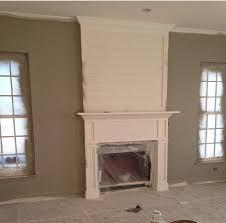 shiplap fireplace home fireplace diy