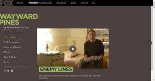 Wayward Pines | Watch Full Episodes Online on FOX | Wayward pines, Episode  online, Tv series