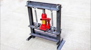 how to make hydraulic press machine