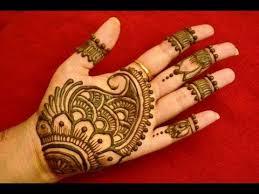 Simple Easy New Mehndi Design