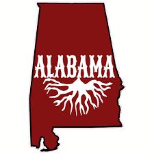 Alabama Roots State Sticker U S Custom Stickers