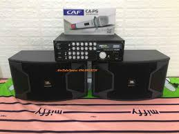 Bộ dàn Karaoke Nghe nhạc cực hay - Âm ly Jarguar PA600A + Đôi loa JBL KS  310 - Mic xịn - 4.500.000đ