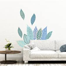 Picture Perfect Decals Tropical Palm Leaves Peel And Stick Wall Stickers Easy No Paint