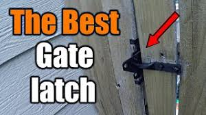 The Best Gate Latch For Your Fence And How To Install It The Handyman Youtube