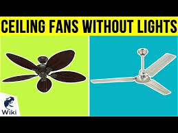 ceiling fans without lights of 2019