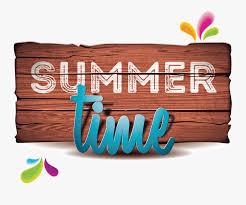 Summer Illustration Vector Time Holiday Beach Clipart - Summer ...
