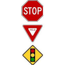 Amazon Com Stop Sign And Yield Sign Traffic Sign Peel And Stick Wall Stickers Childrens Wall Decor Traffic Signs Childrens Wall Decor Wall Stickers