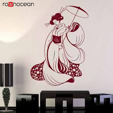 Japanese Building Pagoda Japan Landscape Asian Art Oriental Wall Sticker Vinyl Home Decor Living Room Decal Removable Mural 3475 Wall Stickers Aliexpress