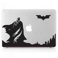 Batman Skyline Dark Knight Laptop Macbook Vinyl Decal Sticker