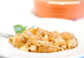 Baked Crab Mac 'n Cheese