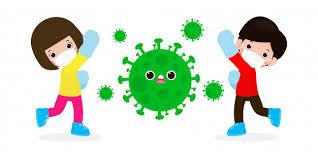 Les Gens Se Battent Avec Le Coronavirus (2019-ncov), L'homme Et La ...