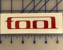 Tool Band Decal Etsy
