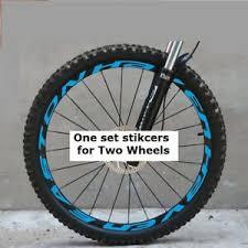 Wheel Sticker Set For Easton Haven Mountain Bike Bicycle Decal Rim Reflective Ebay