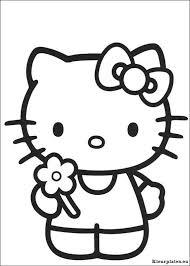 Hello Kitty Kleurplaat 523273 Kleurplaat