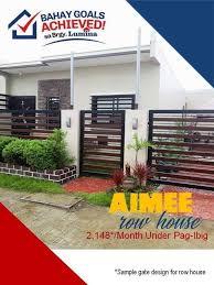 Design Number 1 Sample Fence Design Lumina Homes Philippines Facebook