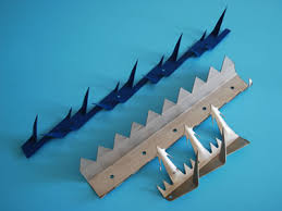 Wall Spikes On Gate Building Fence For High Level Security Fencing
