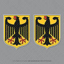 Germany Polizei Coat Of Arms German Eagle Decal Sticker Car Vinyl Deutschland C Ushirika Coop
