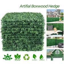 40x60cm Artificial Grass Plant Lawn Panels Wall Fence Home Garden Backdrop Decor Shopee Philippines