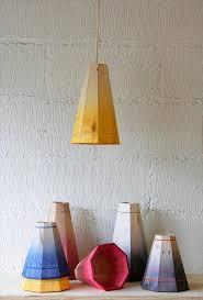 diy colorful pallet pendant lamp shades
