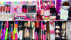 my makeup collection glitterforever17