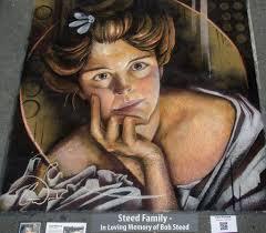 Charles Naegele Hilda Clark Flower Chalk Art by charfade on DeviantArt