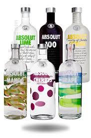 acheter pack vodka absolut saveurs 1l