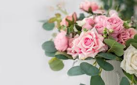 تحميل خلفيات باقة من الورود الوردي جميلة الزهور الوردية الوردي