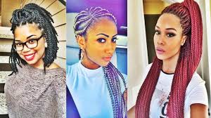super hot black braided hairstyles for