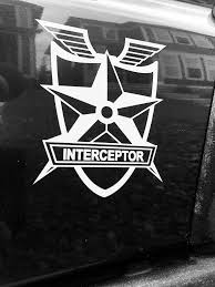 Excited To Share The Latest Addition To My Etsy Shop Mad Max Interceptor Decal Https Etsy Me 2ludghd Everythingelse White Vinyl Decals Etsy Interceptor