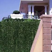 150x300cm Privacy Wall Conifer Hedge Artificial Greenery Fence Screen Garden 5060297016752 Ebay