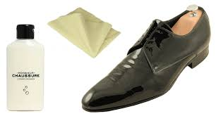 patent leather shoe care monsieur