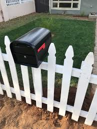 Diy Picket Fence Resting Mailbox Video First House Homestead