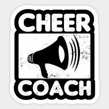 cheer coach shirt megaphone gift