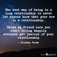 the best way of being in quotes writings by krishna verma