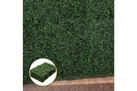 1x Artificial Boxwood Hedge Fake Vertical Garden Green Wall Mat Fence Outdoor Matt Blatt