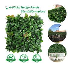 China Outdoor Artificial Green Leaves Decorative Artificial Ivy Leaf Fence China Garden Fence And Artificial Plant Price