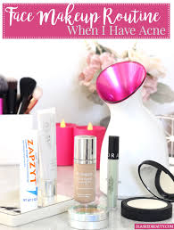 face makeup routine when i have acne