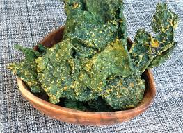 oven dehydrated kale chips no