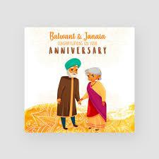 personalised handmade anniversary card