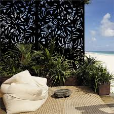 Matrix 2410 X 1205mm Charcoal Rainforest Screen Panel With Frame