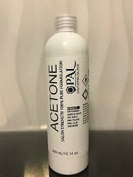 100 pure acetone nail polish gel
