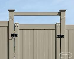 Add A Vinyl Pvc Overhead Brace Vinyl Products Fence All Ottawa On